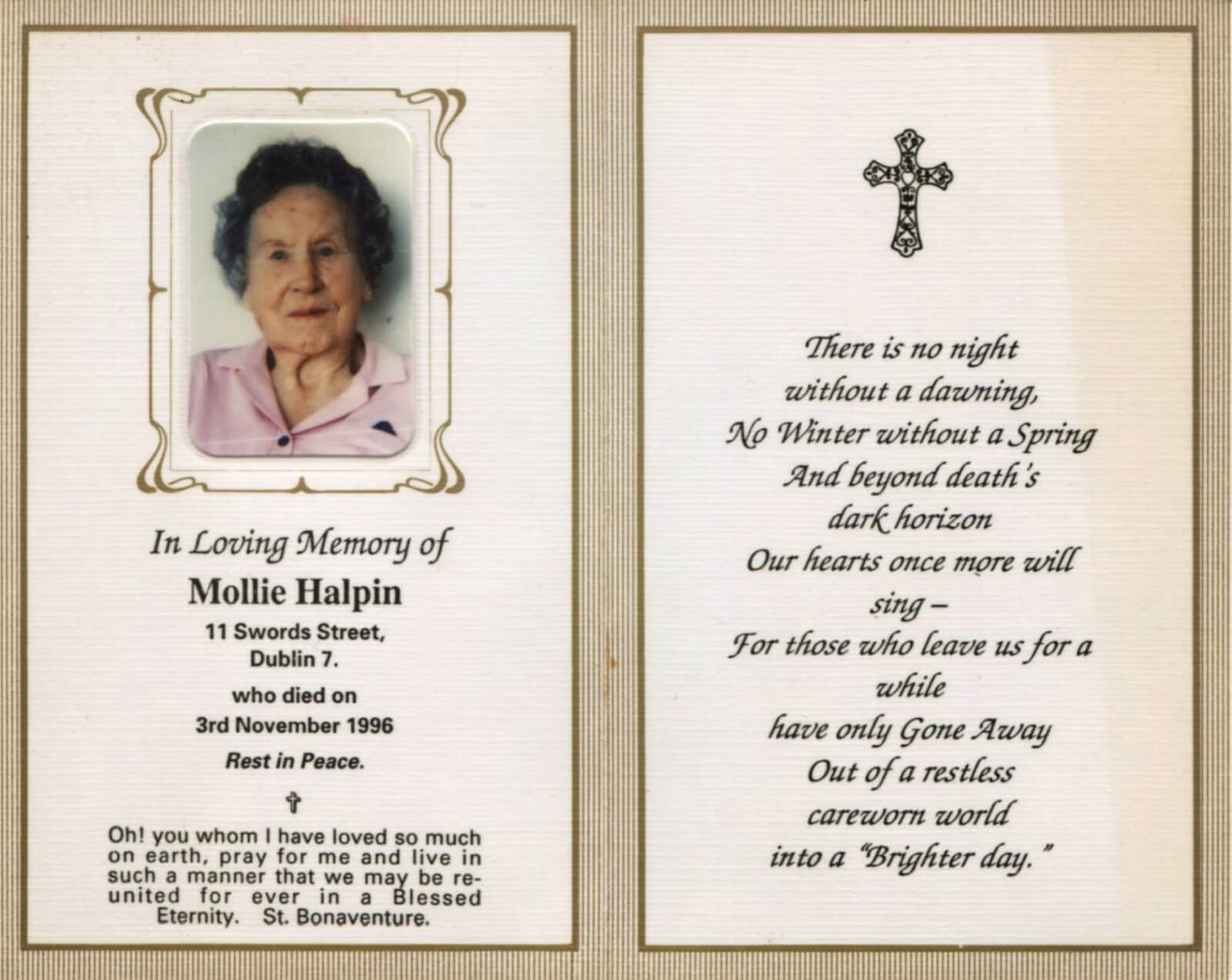 Obituary Cards - Yupar.magdalene-Project in Remembrance Cards Template Free