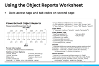 Object Reports 1: Basic Building Blocks with regard to Powerschool Reports Templates