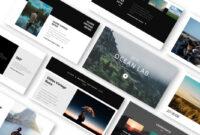 Ocean Lab Photo Album Powerpoint Template – Just Free Slides for Powerpoint Photo Album Template