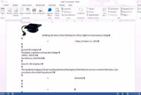Office 2013 Class #15: Word 2013: Letterhead, Save As Template, Business  Letter pertaining to How To Create A Template In Word 2013