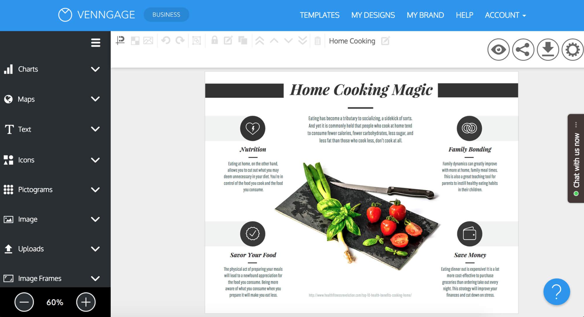 Online Brochure Maker: Design A Brochure For Free Inside Online Brochure Template Free