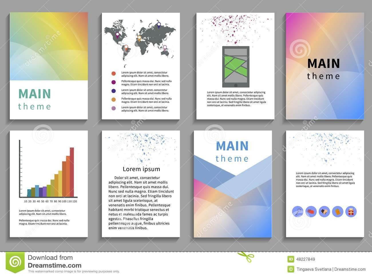 Online Brochure Template Free Ukran Agdiffusion Com inside Online Brochure Template Free
