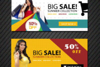 Online Shopping Banners Templates | Free Website Psd Banners with regard to Free Online Banner Templates
