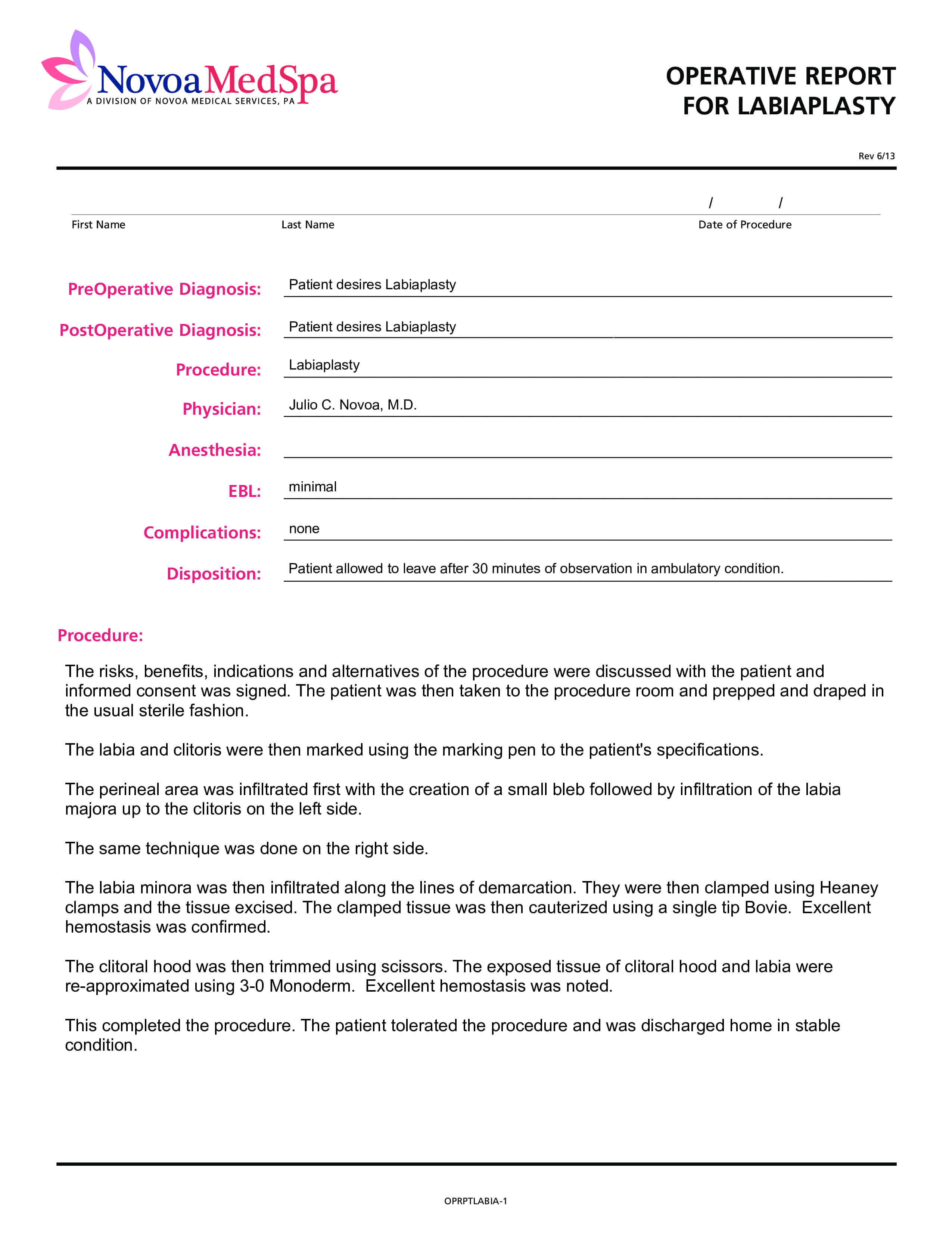 Operative Report | Templates At Allbusinesstemplates throughout Operative Report Template