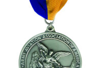 Order Of Saint Michael for Army Good Conduct Medal Certificate Template