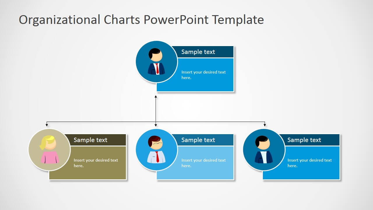 Organizational Charts Powerpoint Template Throughout Microsoft Powerpoint Org Chart Template