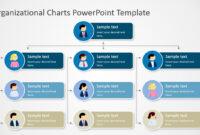 Organizational Charts Powerpoint Template within Microsoft Powerpoint Org Chart Template