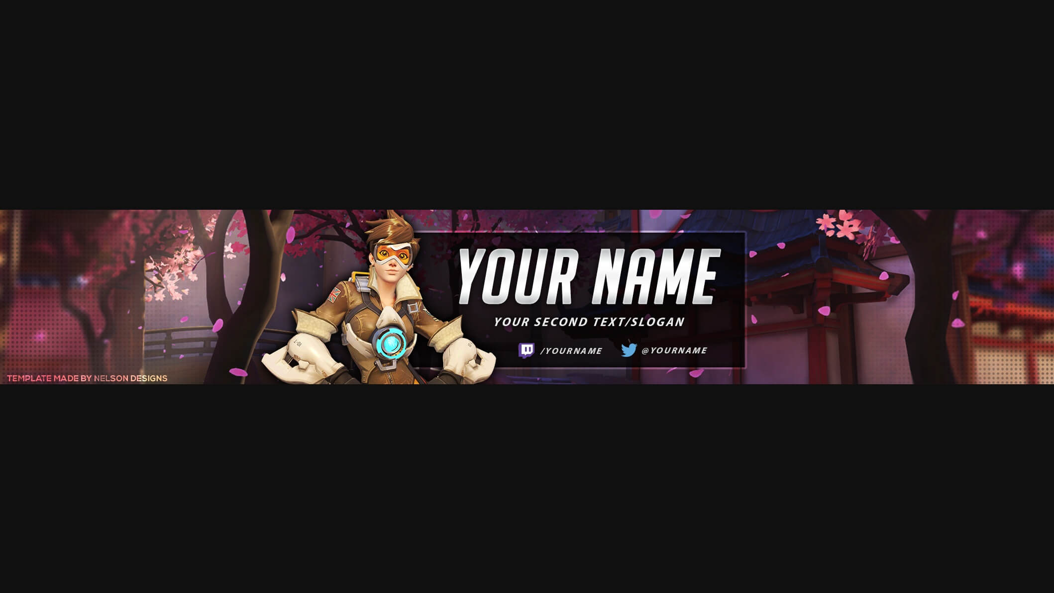 Overwatch Youtube Banner Template – Tristan Nelson Intended For Adobe Photoshop Banner Templates