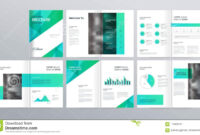 Page Layout For Company Profile, Annual Report, And Brochure intended for Welcome Brochure Template