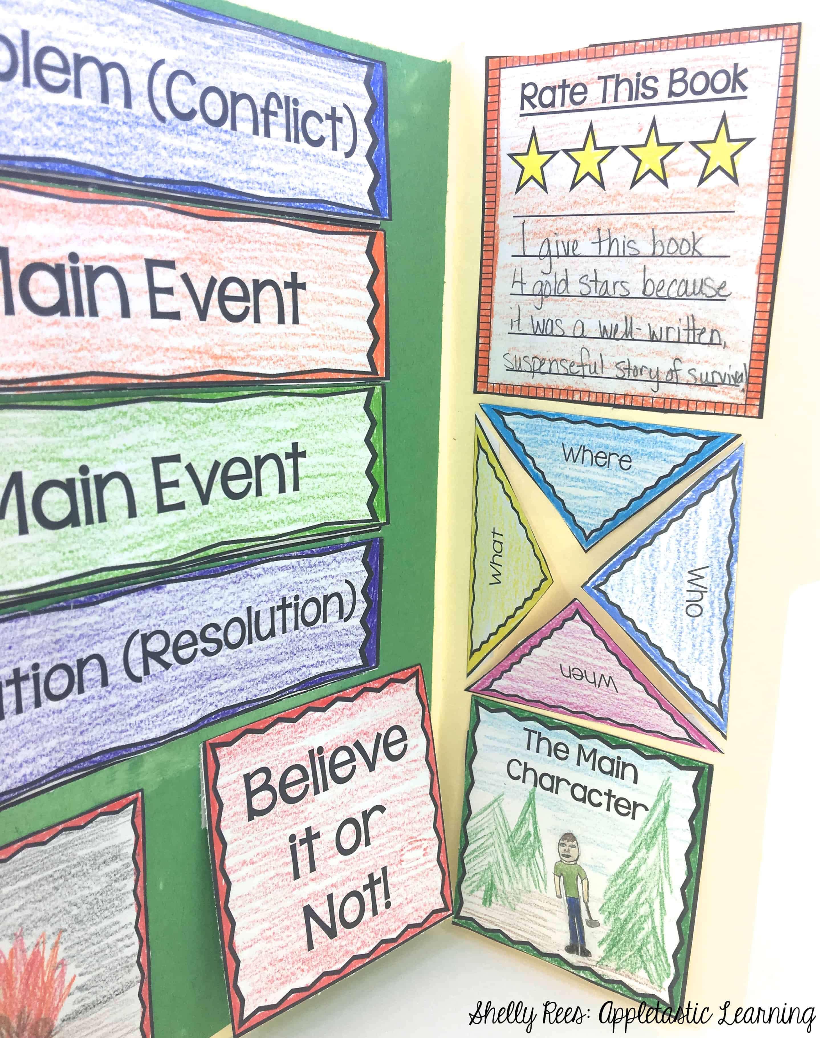 Paper Bag Book Report Template - Atlantaauctionco Throughout Paper Bag Book Report Template