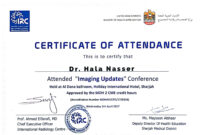 Participation Certificate Template Word – Yupar.magdalene with Conference Certificate Of Attendance Template