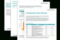 Pci Configuration Audit Report – Sc Report Template | Tenable® in Security Audit Report Template