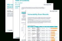 Pci Internal Vulnerability Scanning Report – Sc Report pertaining to Nessus Report Templates
