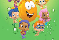Personalised Bubble Guppies Birthday Card throughout Bubble Guppies Birthday Banner Template