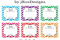 Personalized Your Library With Free Printable Chevron Book In Bookplate Templates For Word