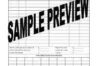 Petty Cash Expense Report For Film Or Tv Production regarding Petty Cash Expense Report Template