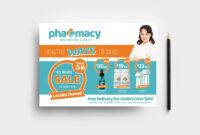 Pharmacy Flyer Template – Psd, Ai & Vector – Brandpacks in Pharmacy Brochure Template Free