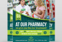 Pharmacy Flyer Template Vol.3 with regard to Pharmacy Brochure Template Free