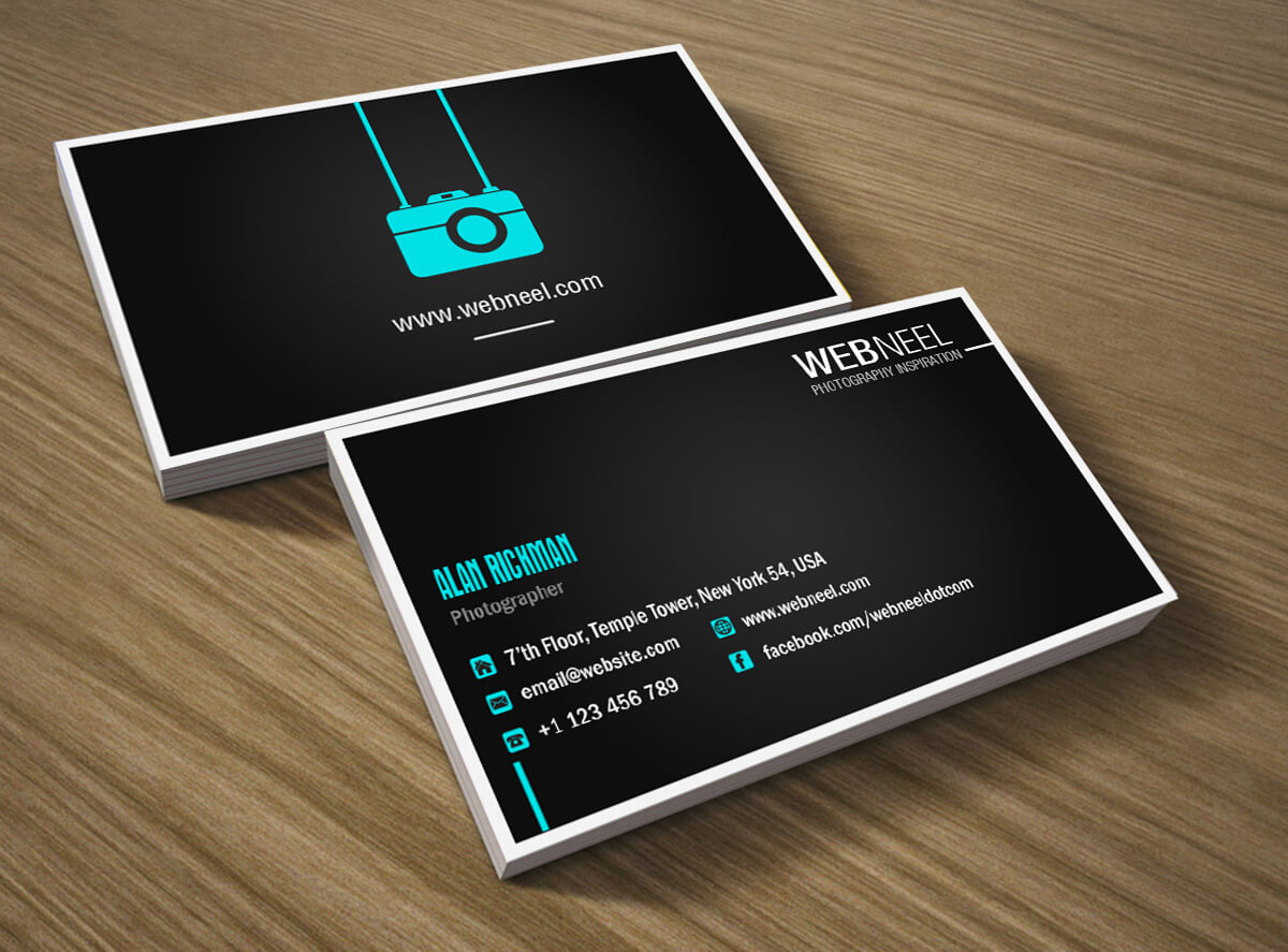 Photography Business Card Design Template 41 - Freedownload pertaining to Photography Business Card Templates Free Download