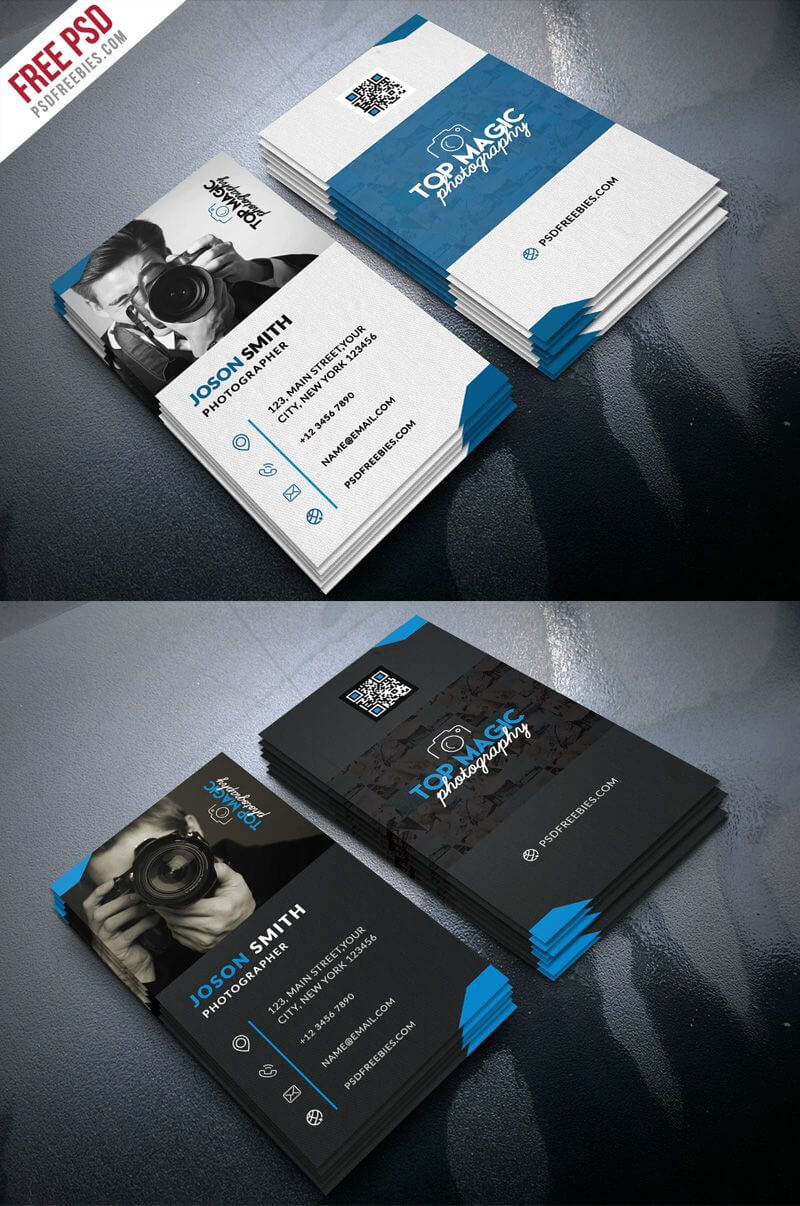 Photography Business Card Design Templates Photographer throughout Photography Business Card Templates Free Download