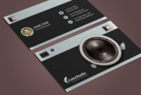 Photography Business Card Template Psd – Free Graphics throughout Free Business Card Templates For Photographers