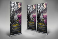Photography Rollup Banner Template Psd | Rollup Banner Within Photography Banner Template
