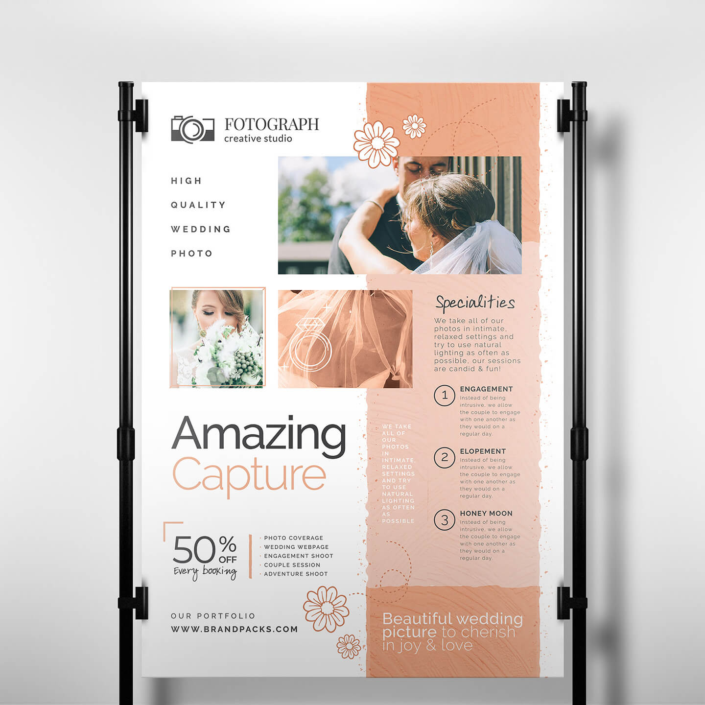 Photography Service Banner Template - Psd, Ai & Vector Pertaining To Photography Banner Template