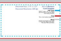 Photoshop Business Card Template | Madinbelgrade within Business Card Template Size Photoshop