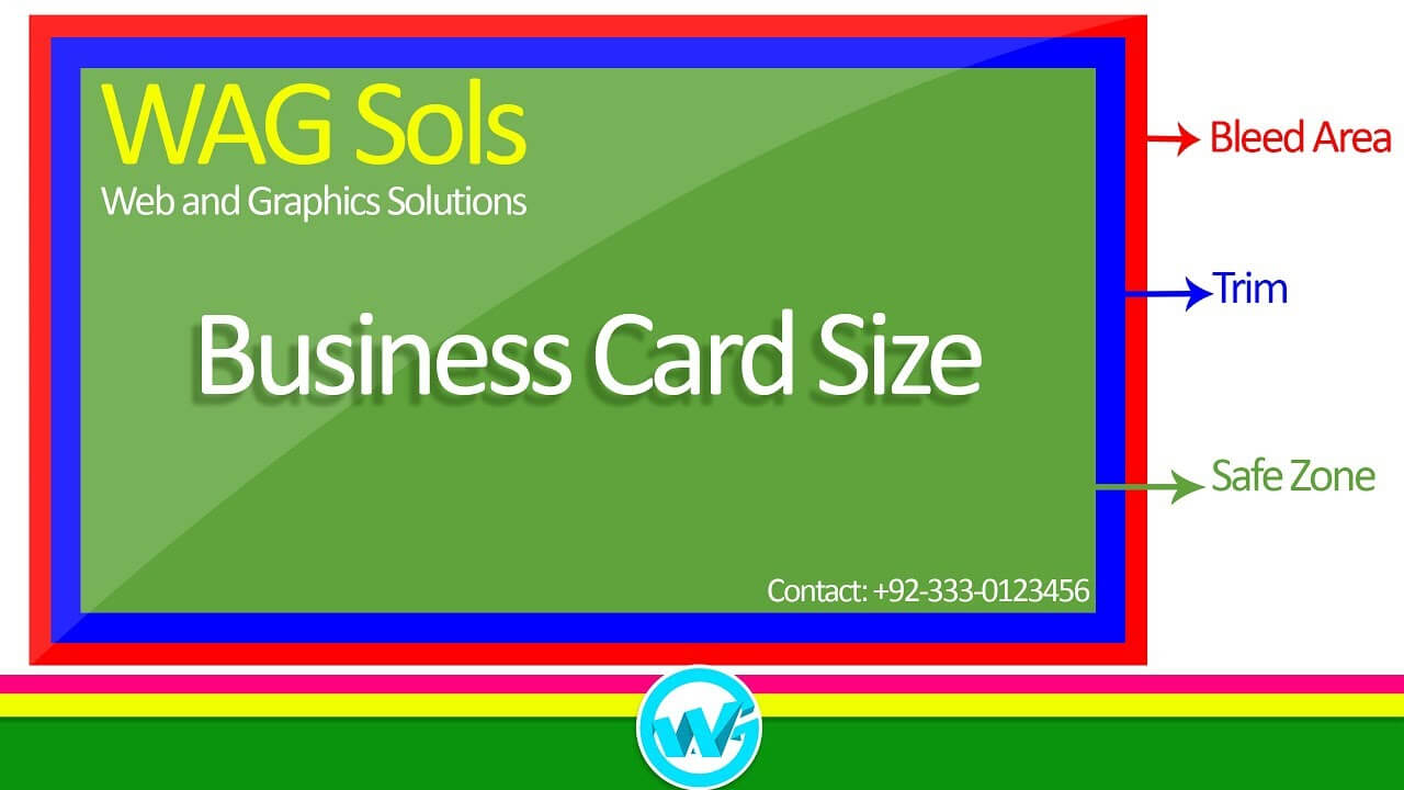 Photoshop Business Card Template With Bleeds | Learn Photoshop In Hindi /  Urdu Throughout Photoshop Business Card Template With Bleed