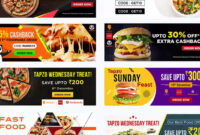 Photoshop Free Download – Food Banner Templates For Facebook Within Food Banner Template
