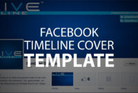 Photoshop Template: Facebook Timeline Cover (Psd File) With Regard To Photoshop Facebook Banner Template
