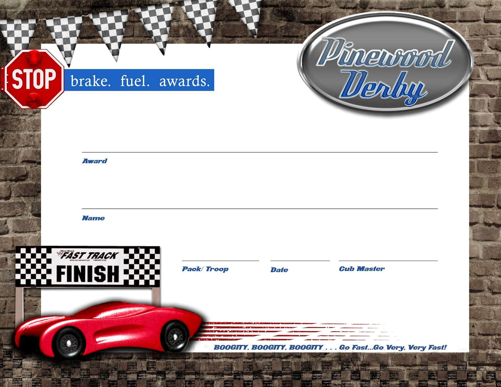 Pin On Boy Scouts/cub Scouts Pertaining To Pinewood Derby Certificate Template