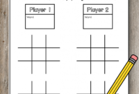 Pin On Ela For Tic Tac Toe Template Word