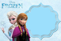 Pin On Free Printable Birthday Invitation intended for Frozen Birthday Card Template