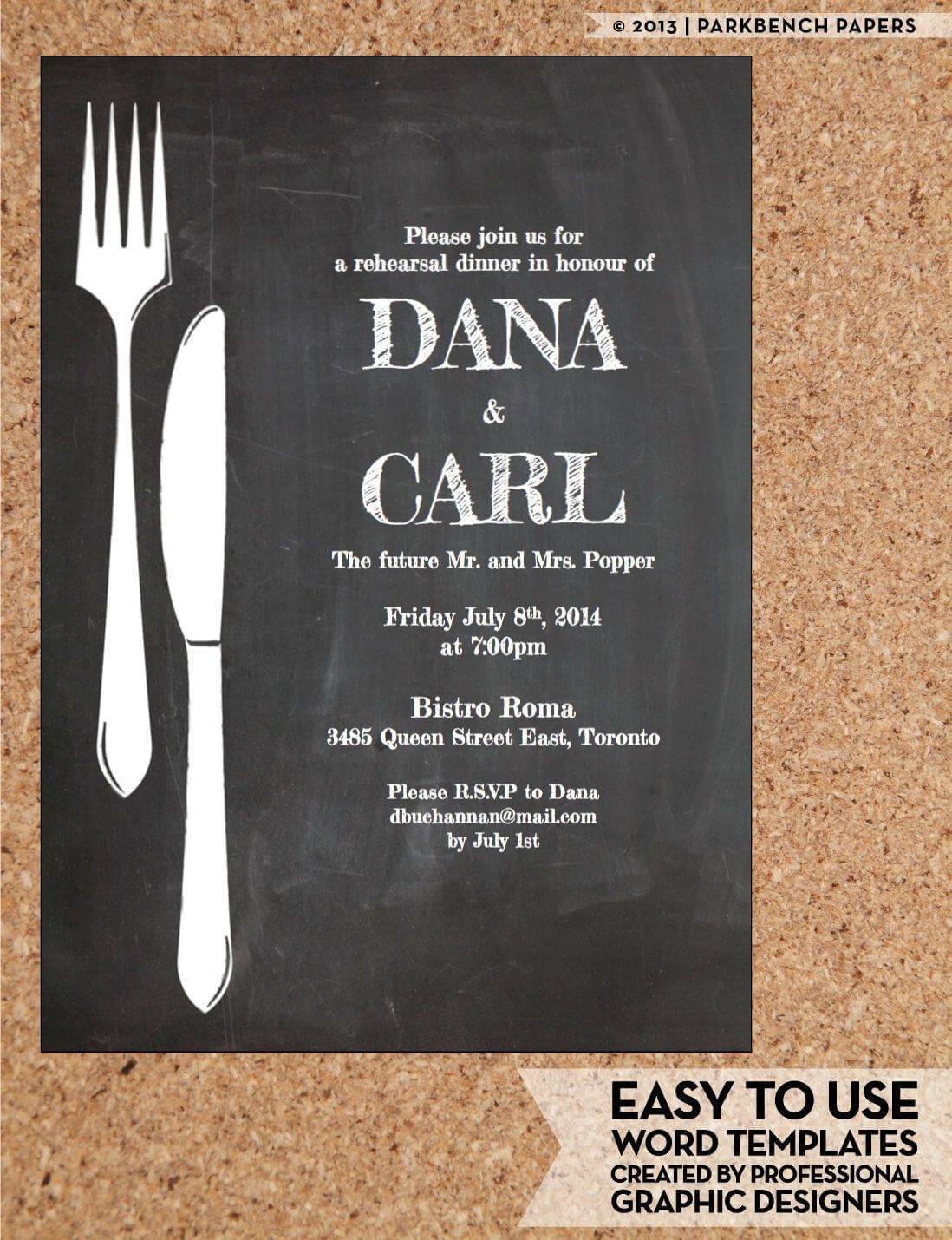 Pin On Invitations inside Free Dinner Invitation Templates For Word