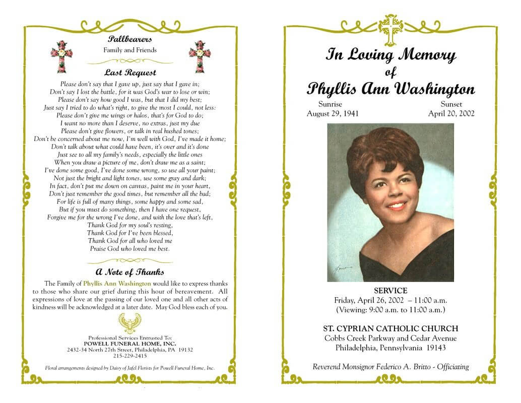 Pin On Mamas Words Pertaining To Memorial Cards For Funeral Template Free