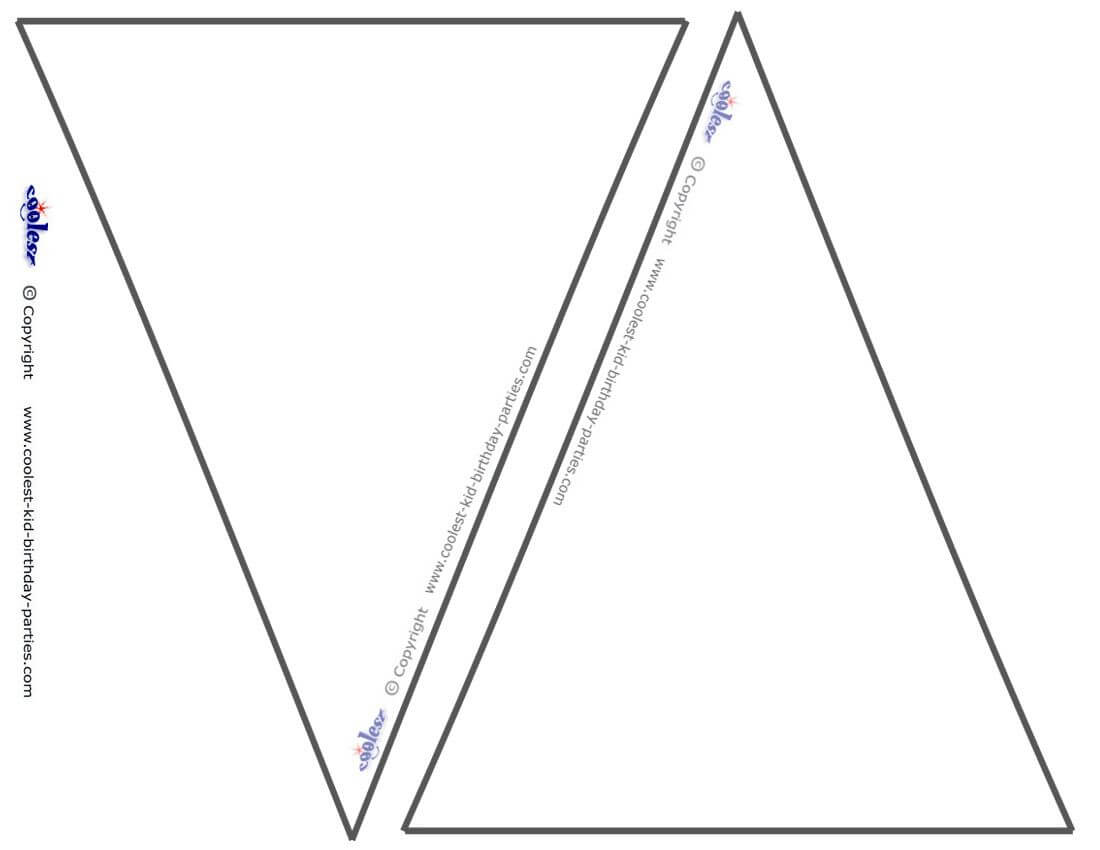 Pin On Miss Chandler's Class with Triangle Pennant Banner Template