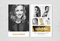 Pin On Model Comp Cards for Comp Card Template Download