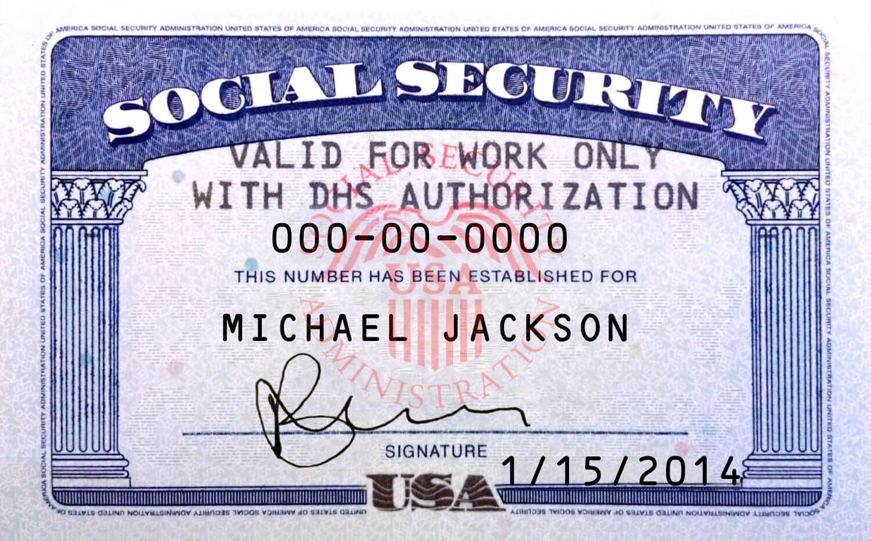 Pin On Novelty Psd Usa Ssn Template regarding Fake Social Security Card Template Download