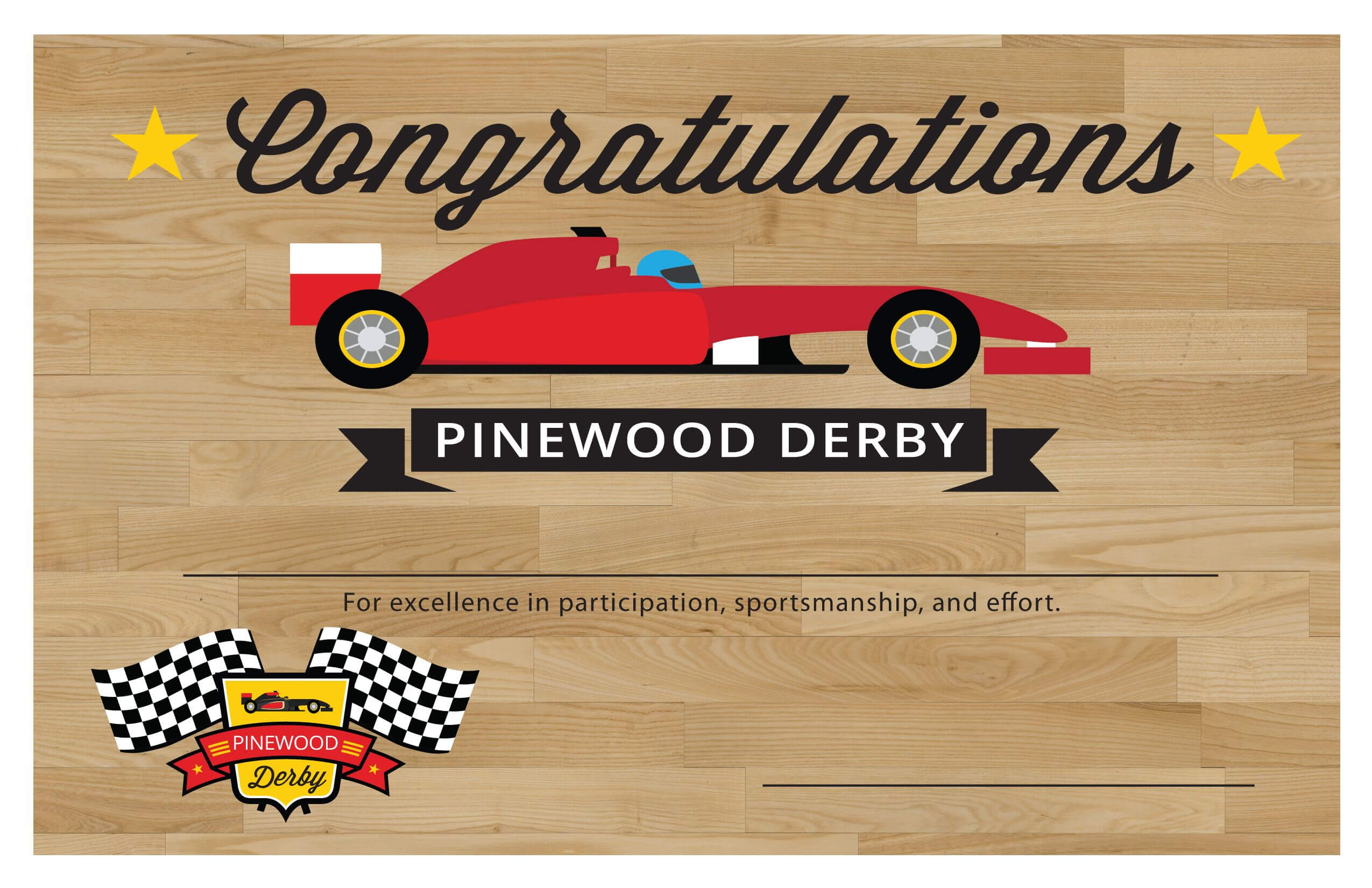 Pin On Pinewood Derby Throughout Pinewood Derby Certificate Template