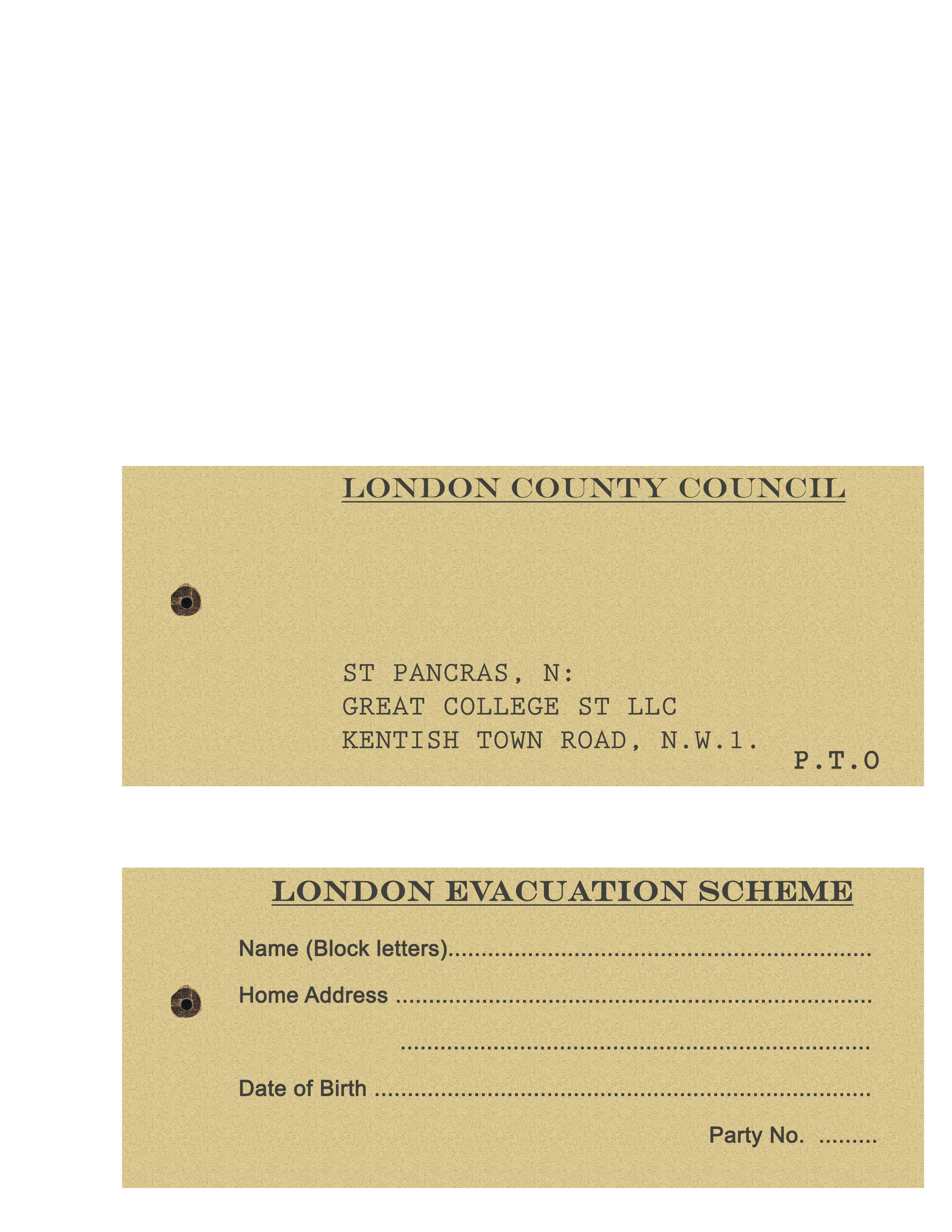 Pin On School Stuff in World War 2 Identity Card Template