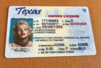 Pin On Texas with regard to Texas Id Card Template