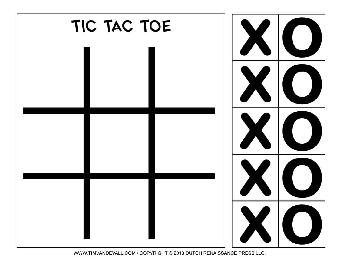 Pin On Tic Tac Toe Game Printables For Tic Tac Toe Template Word