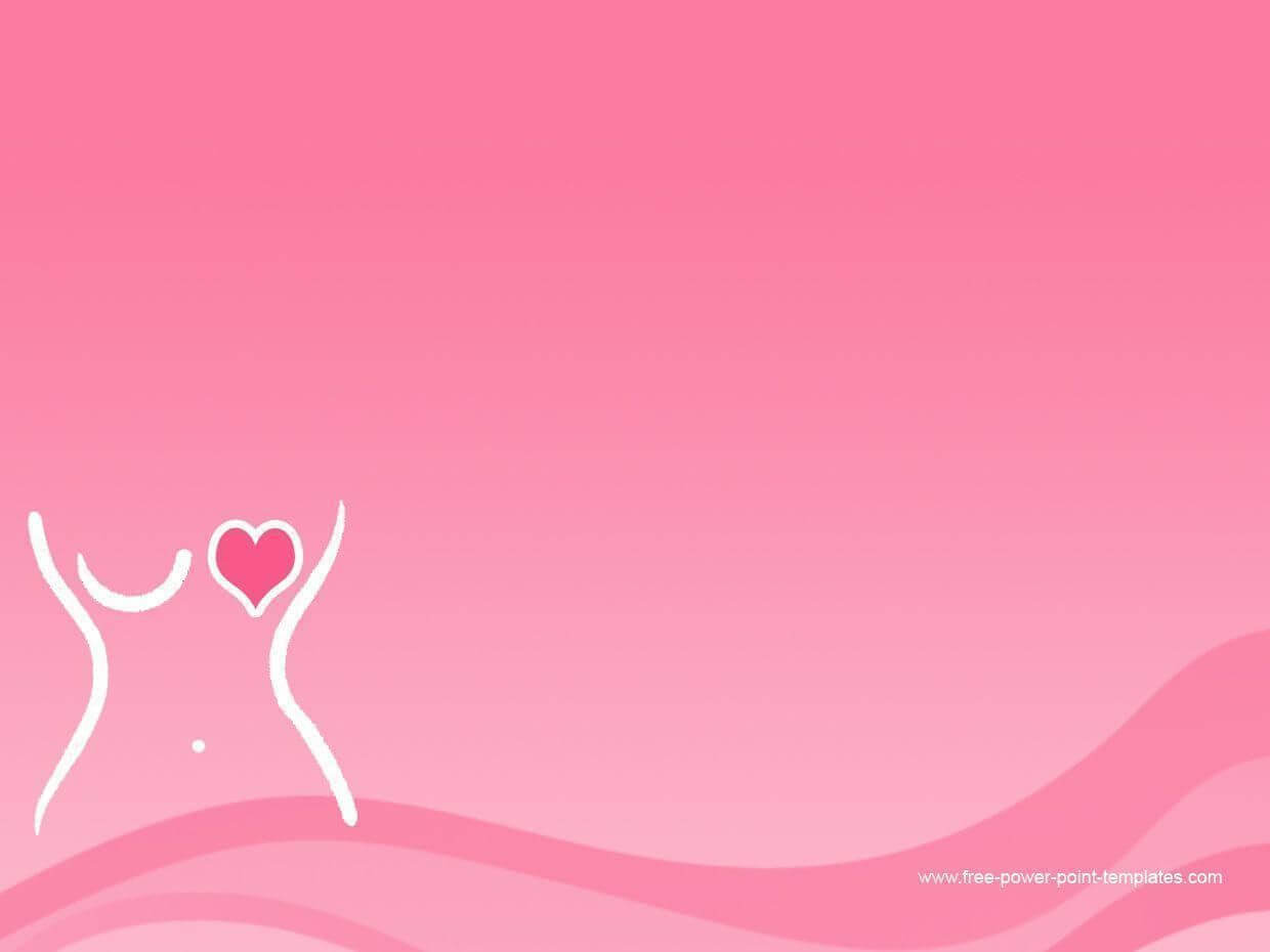 Pin On Tickled Pink intended for Breast Cancer Powerpoint Template