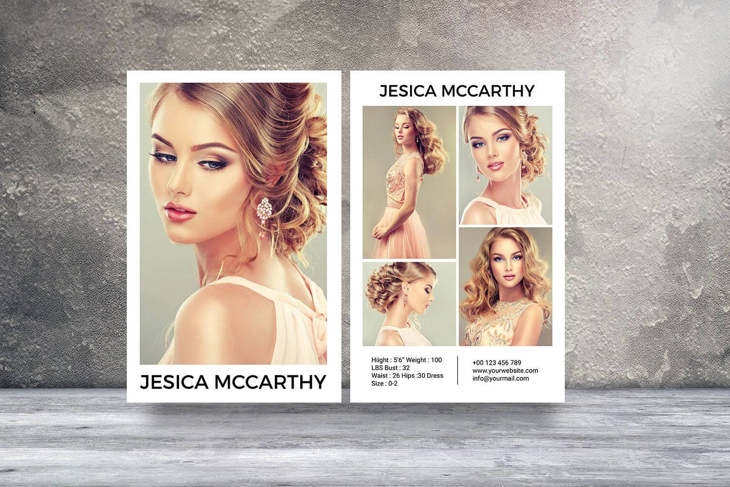 Pin On Top Blogs - Pinterest Viral Board Inside Free Model Comp Card Template Psd