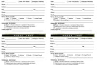 Pin On Work pertaining to Church Visitor Card Template