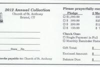 Pinandrew Martin On Pledge Cards | Fundraising regarding Building Fund Pledge Card Template