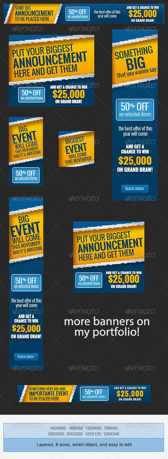 Pinbest Graphic Design On Web Banners Template Psd inside Event Banner Template