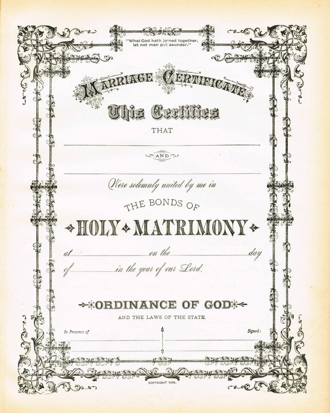 Pinlea Engelbrecht On Transfers   Wedding Certificate with regard to Certificate Of Marriage Template