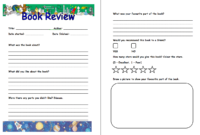 Pinm M On Book Clubs | Book Review Template, Book throughout Book Report Template Grade 1
